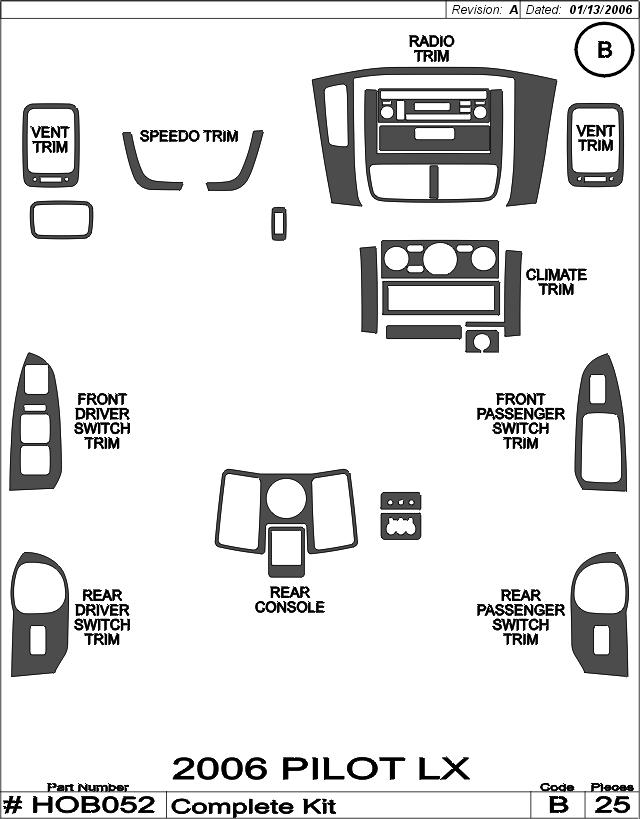 Honda Pilot Radio