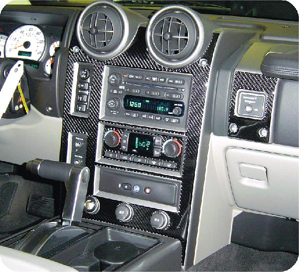 Hummer H2 Dash Kit Photos